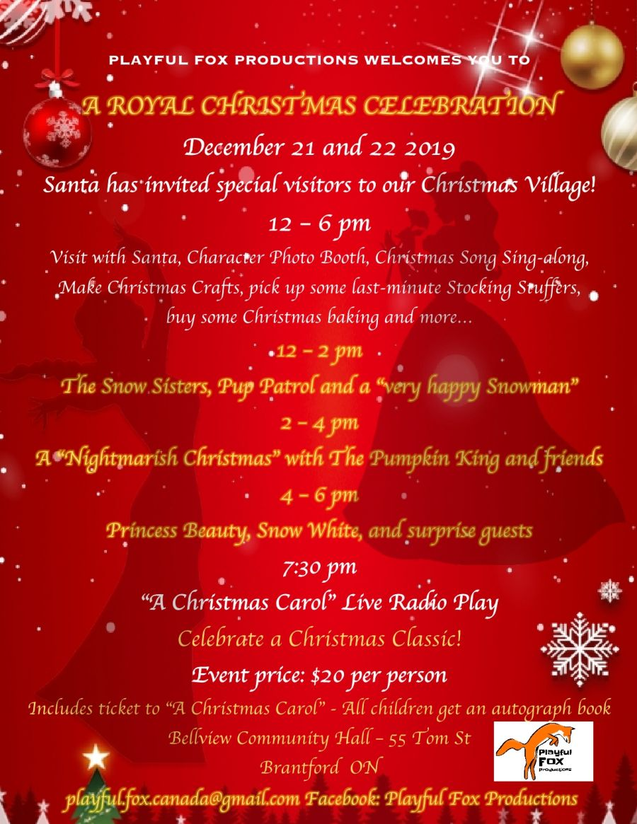 Royal Christmas Celebration poster