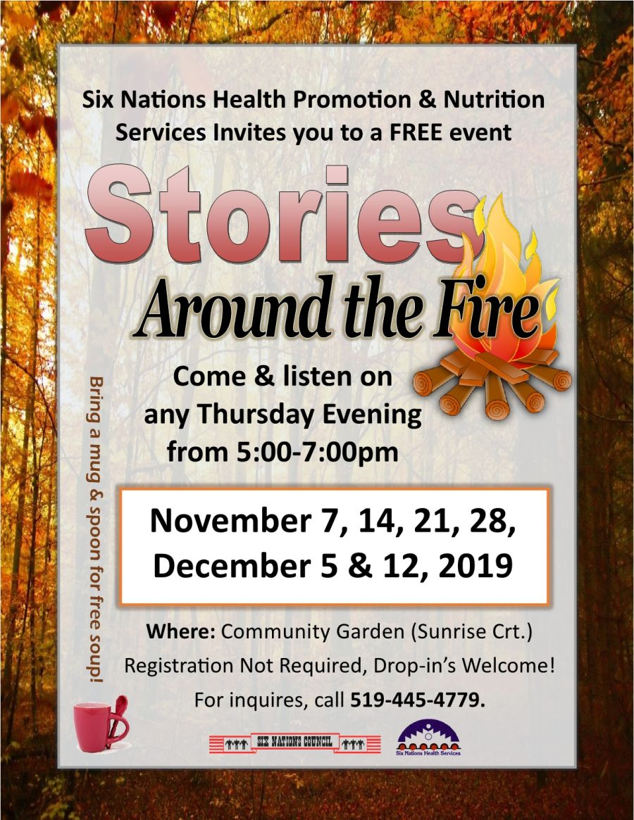 Stories Around the Fire poster