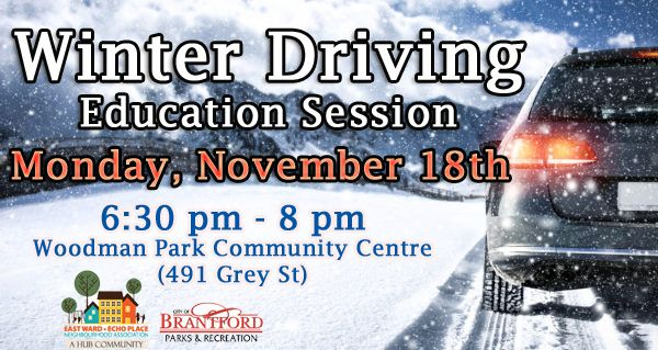 Winteer Driving Education Session poster
