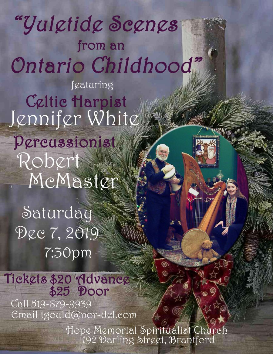 Yuletide Scenes from an Ontario Childhood poster