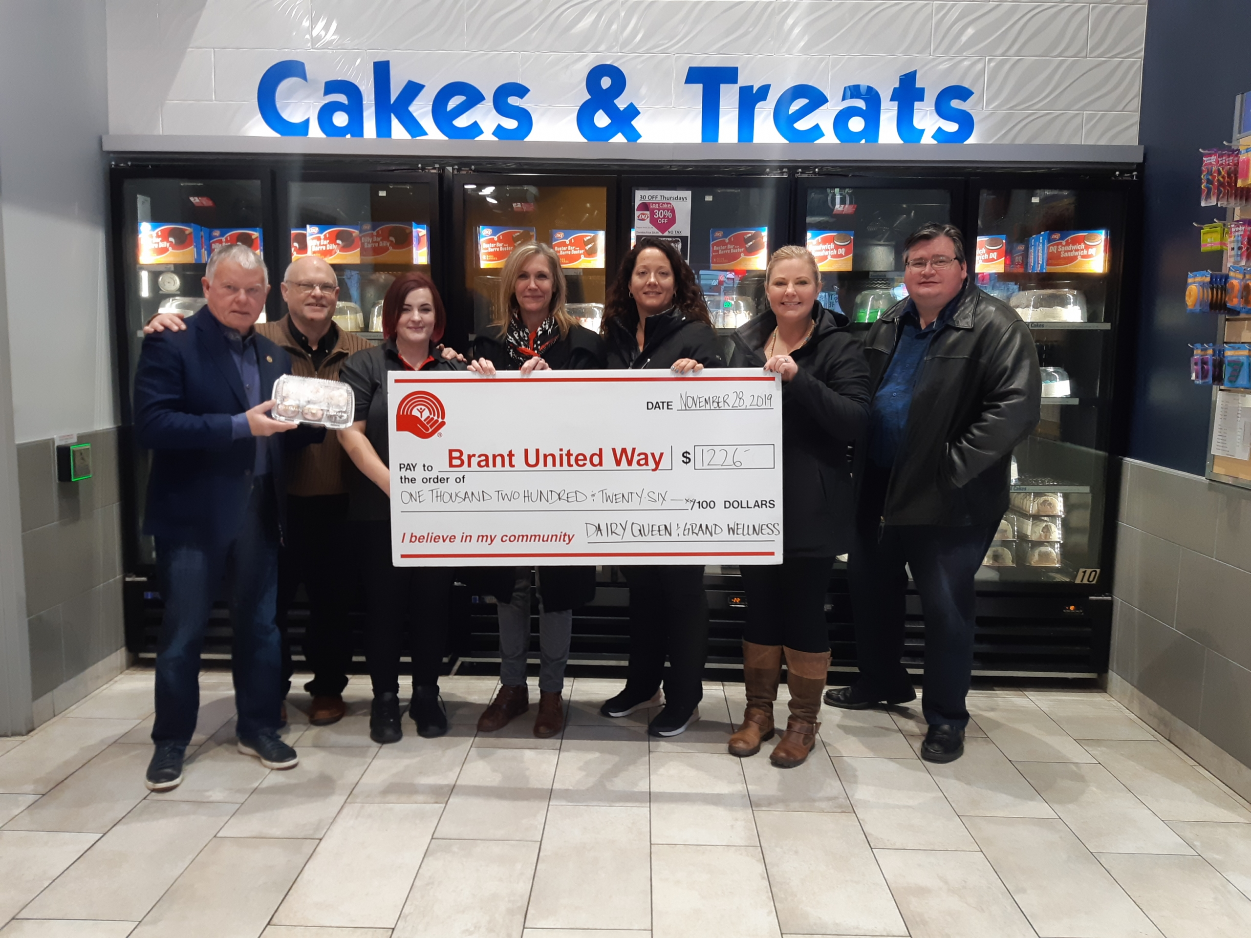 DQ Brant - Cupcake Day 2019