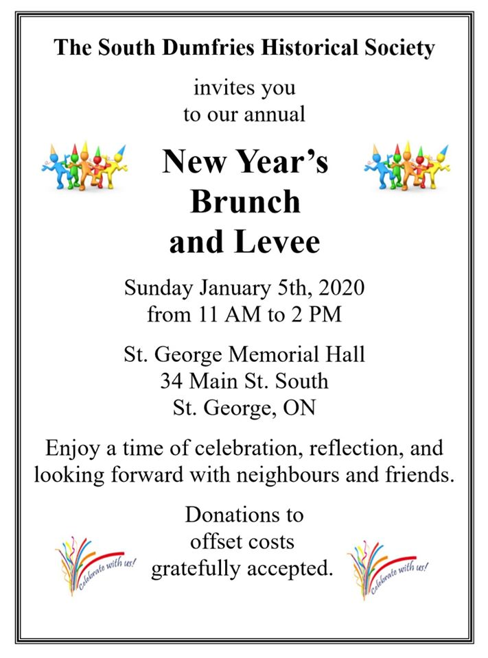 County of Brant New Year's Levee 2020