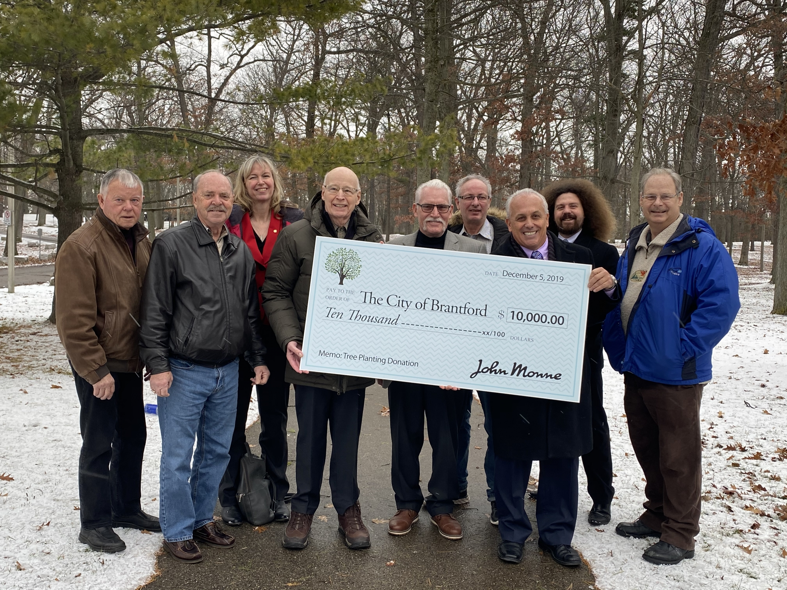 Tree Reserve Fund Donor Announcement