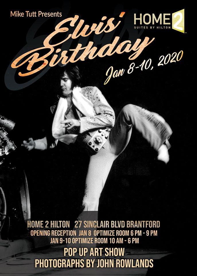 Elvis' Birthday Pop Up Art Show