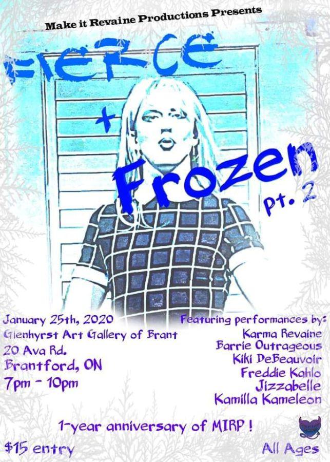 Fierce + Frozen Part 2 poster