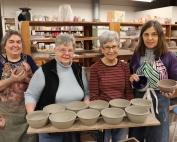 Local Potters Making Bowls