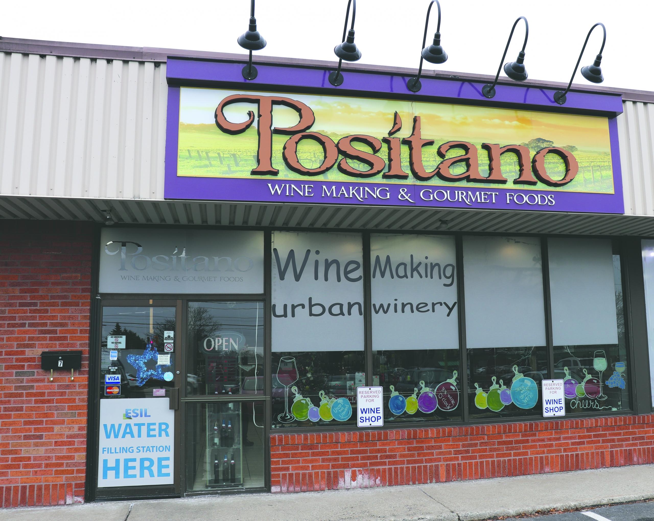 Positano's Store Front