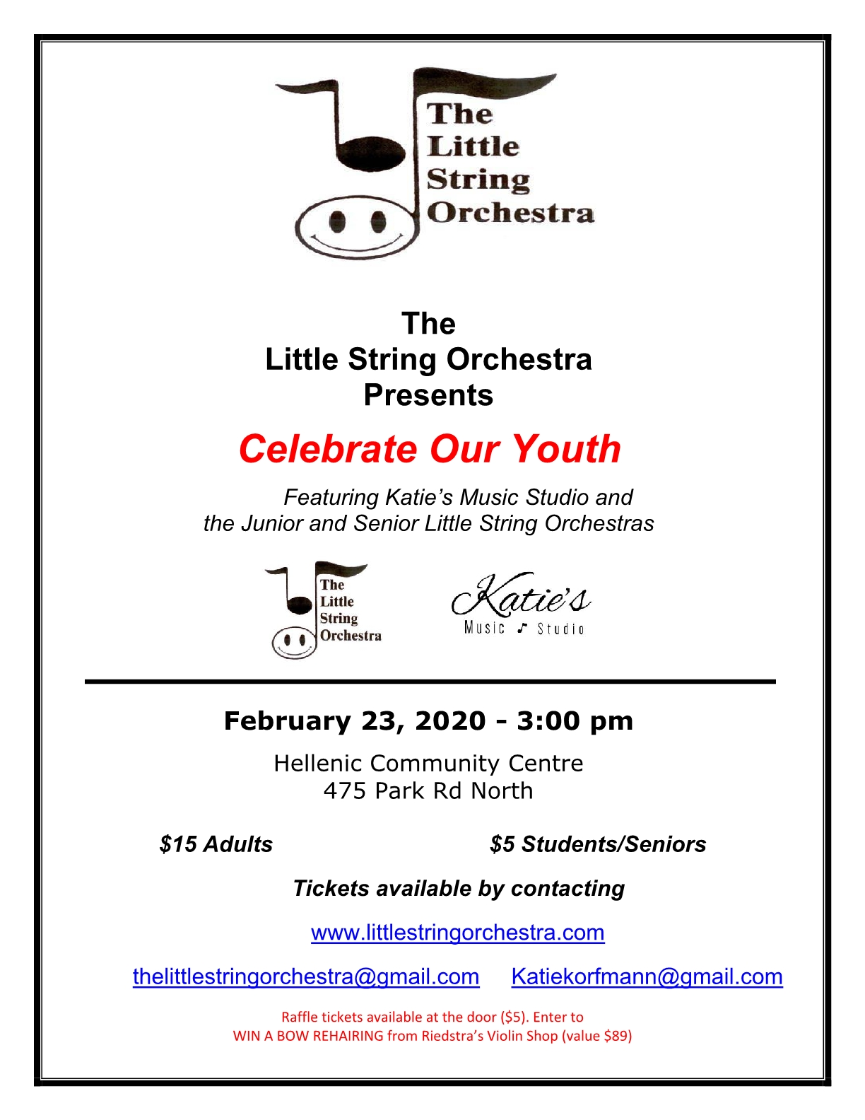 Celebrate Our Youth poster
