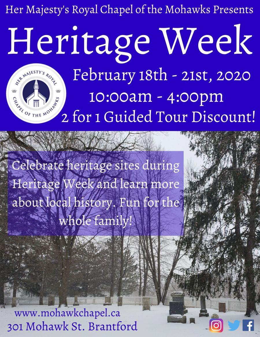 Heritage Week poster