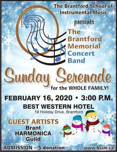 Sunday Serenade poster