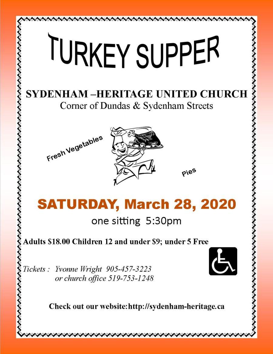 Turkey Supper poster