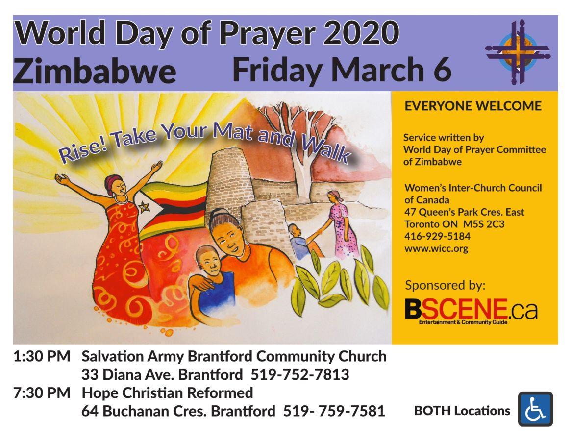 World Day of Prayer 2020 poster