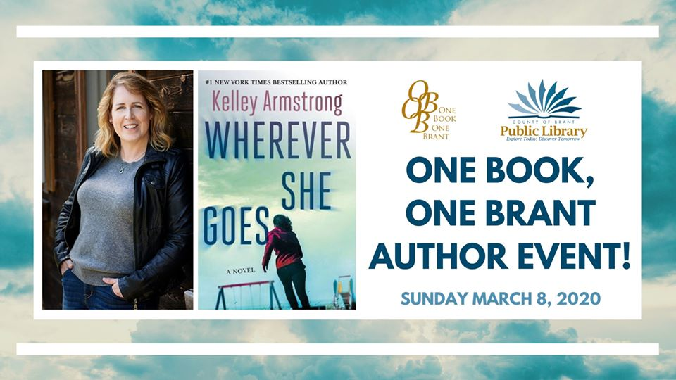 One Book One Brant Author Event 2020