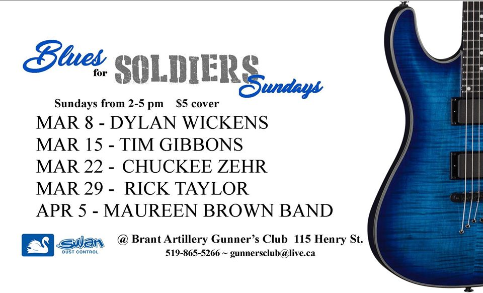 Blues For Soldiers March 2020