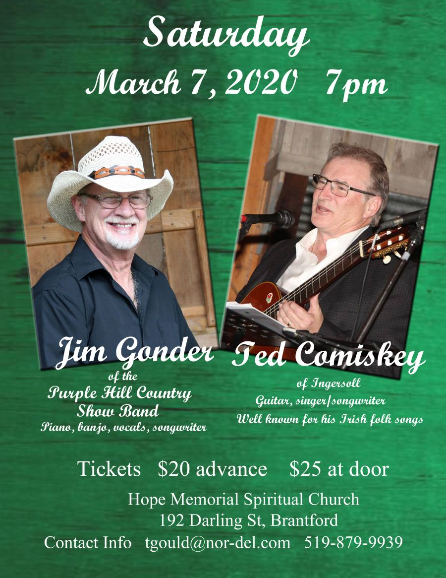 Jim Gonder and Ted Comiskey poster