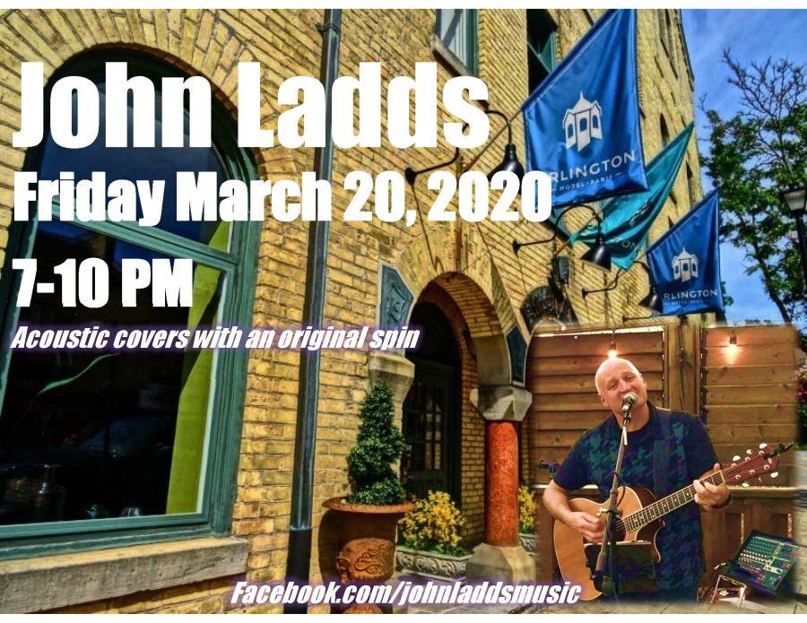 John Ladds poster