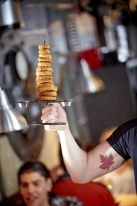 The Works - Tower of Onion Rings