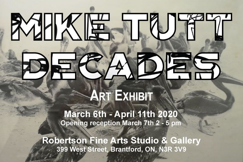 Mike Tutt Decades poster