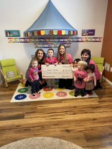 Wee Watch Donates to Heart & Stroke