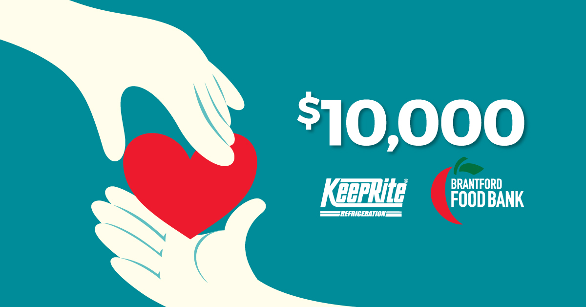 KeepRite Donates to Brantford FoodBank