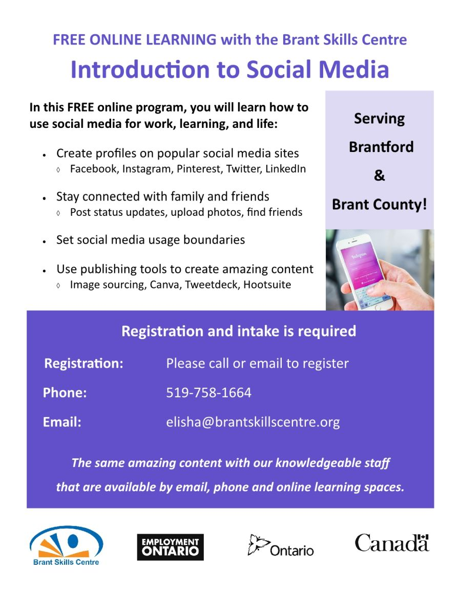 Introduction to Social Media poster