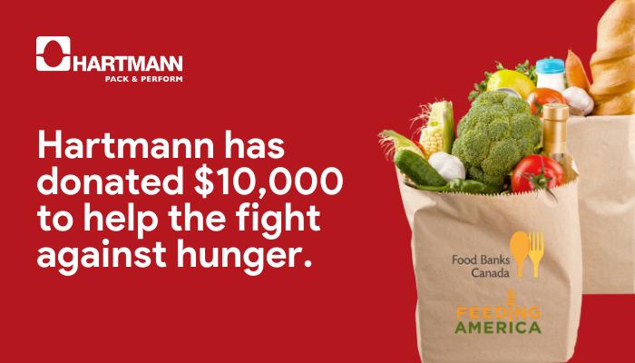 Hartmann's Food Bank Donation