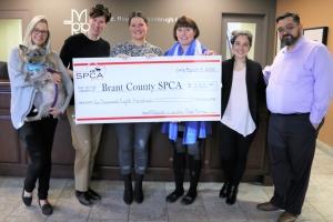Millards - SPCA Donation