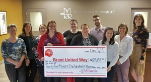 Millards - United Way Donation