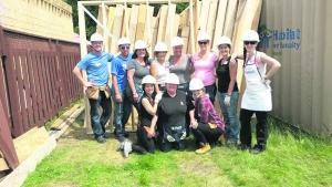 Habitat Build - Volunteers