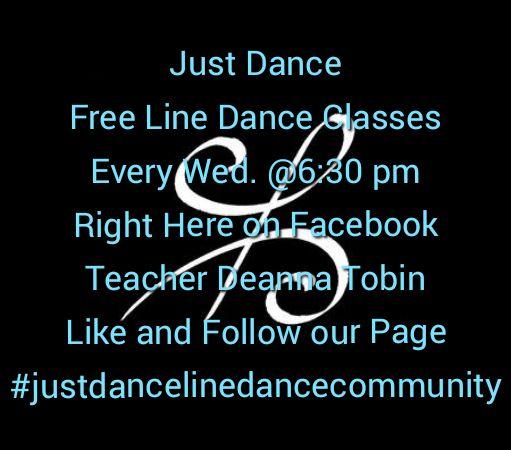 Just Dance Line Dance Community poster