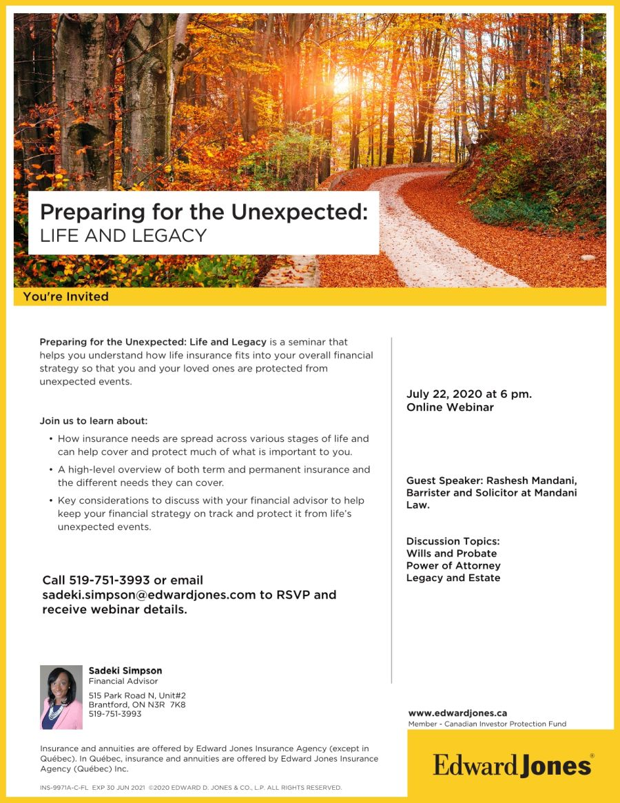 Preparing for the Unexpected: Life and Legacy poster