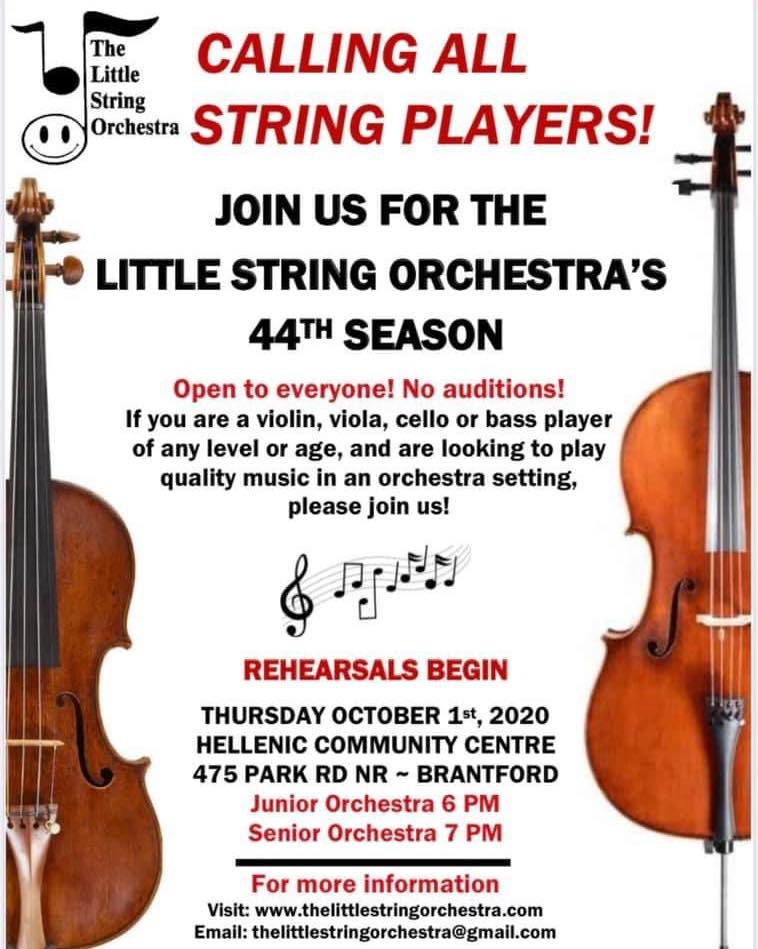 Little String Orchestra - October 2020