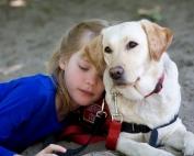 Autism Dog Services - Girl & Dog