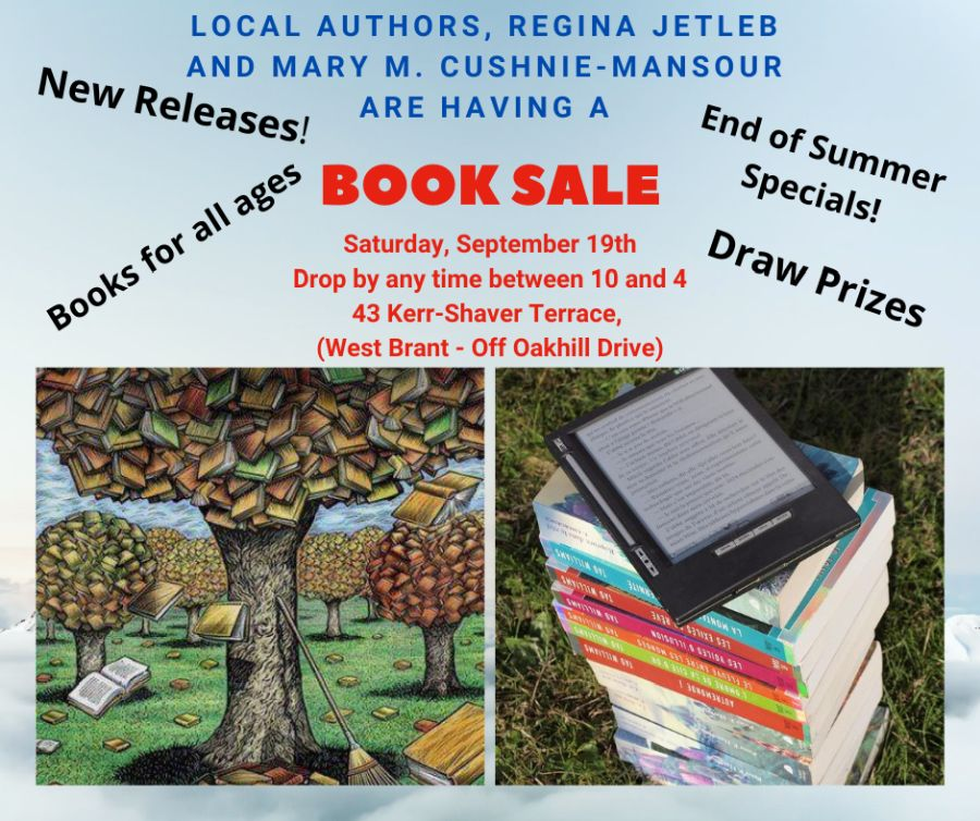 September Book Sale poster
