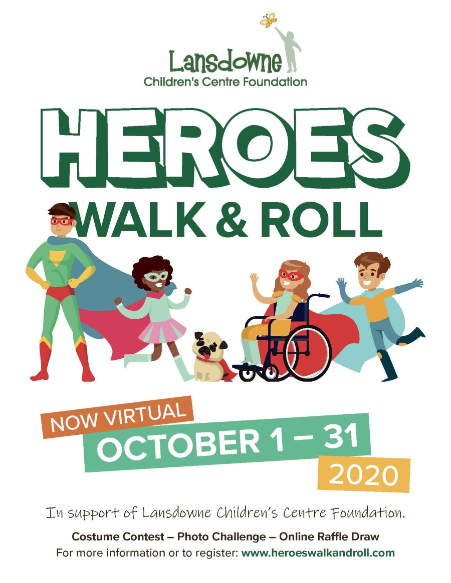Heroes Walk and Roll poster