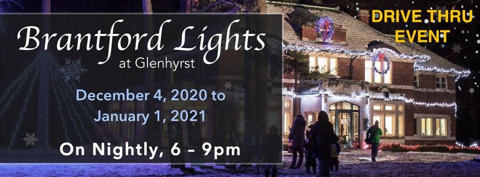 Brantford Lights at Glenhyrst 2020
