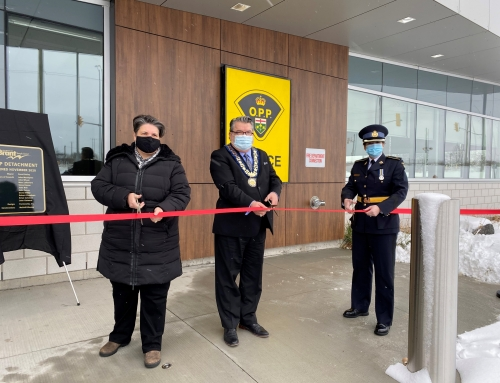 New Brant OPP Detachment Ribbon Cutting Ceremony