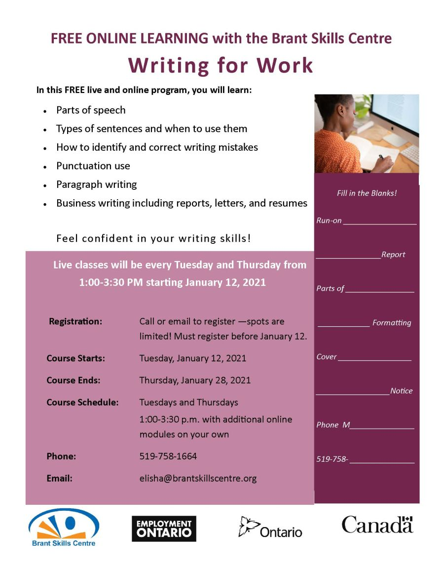 Writing for Work poster