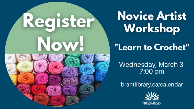 Novice Artist Workshop - Crocheting