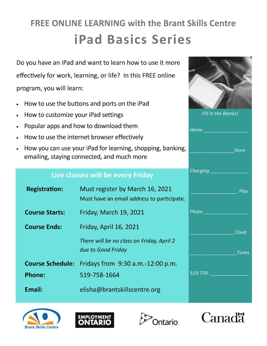 iPad Basics Series poster