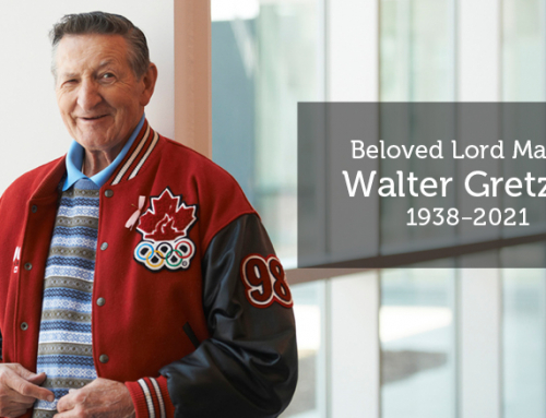 City of Brantford Mourns Loss of Lord Mayor Walter Gretzky